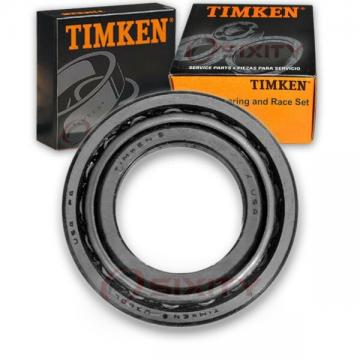 Timken Front Wheel Bearing & Race Set for 1963-1966 Jeep FC170 Left Right rf