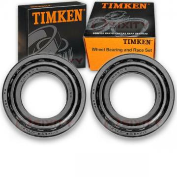 Timken Front Wheel Bearing & Race Set for 1963-1966 Jeep FC150 Pair Left uq