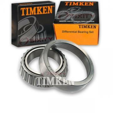 Timken Rear Differential Bearing Set for 1993-1995 GMC G1500  wf