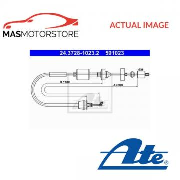 243728-10232 ATE CLUTCH CABLE RELEASE I NEW OE REPLACEMENT