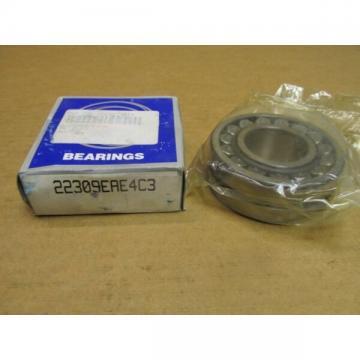 NIB NSK 22309EAE4C3 SPHERICAL ROLLER BEARING 22309 EAE4 C3 45x100x36 mm