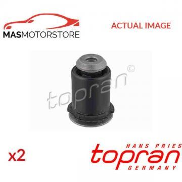 2x 400 055 TOPRAN REAR CONTROL ARM WISHBONE BUSH PAIR I NEW OE REPLACEMENT
