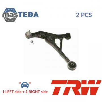 2x TRW LOWER LH RH TRACK CONTROL ARM PAIR JTC1275 P NEW OE REPLACEMENT