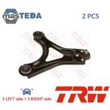 2x TRW FRONT LH RH TRACK CONTROL ARM PAIR JTC164 P NEW OE REPLACEMENT